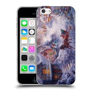Official Christmas Mix Winter Wonderland Nicky Boehme In A One Horse Open Sleigh Soft Gel Case for Apple iPhone 5c