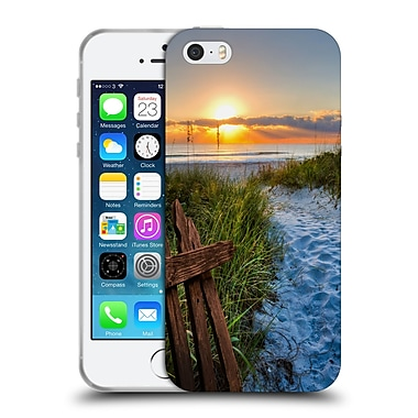 Official Celebrate Life Gallery Beaches Sandy Trail Soft Gel Case for Apple iPhone 5 / 5s / SE
