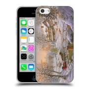 Official Christmas Mix Winter Wonderland Nicky Boehme Over The Bridge To Grandmas Soft Gel Case for Apple iPhone 5c