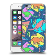 Official Chobopop Dinosaurs 90's Pattern Soft Gel Case for Apple iPhone 6 / 6s