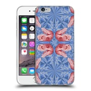 Official Chobopop Dinosaurs T-Rex Pattern Serenity Rose Quartz Soft Gel Case for Apple iPhone 6 / 6s