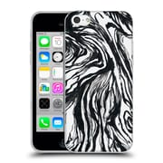 Official Caitlin Workman Patterns Marble Black Soft Gel Case for Apple iPhone 5c