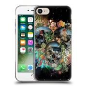 Official Burcu Korkmazyurek Skulls Pyramus And Thisbe Soft Gel Case for Apple iPhone 7