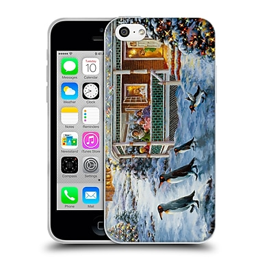Official Christmas Mix Winter Wonderland Nicky Boehme Hey! Wait For Me Soft Gel Case for Apple iPhone 5c