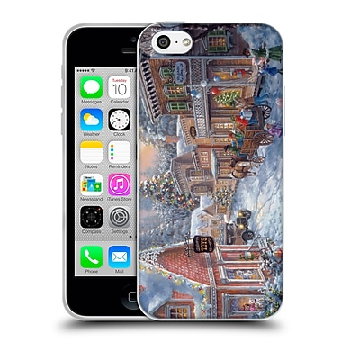 Official Christmas Mix Winter Wonderland Nicky Boehme Good Old Days Soft Gel Case for Apple iPhone 5c
