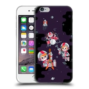 Official Chobopop Illustrations Space Rock Soft Gel Case for Apple iPhone 6 / 6s