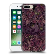Official Celandine Camouflage Fit In Mauve Soft Gel Case for Apple iPhone 7 Plus