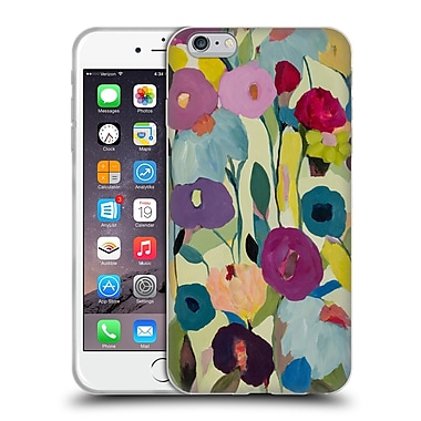 Official Carrie Schmitt Florals Rising Toward The Sun Soft Gel Case for Apple iPhone 6 Plus / 6s Plus
