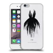 Official Caitlin Workman Black and White LBD Soft Gel Case for Apple iPhone 6 / 6s