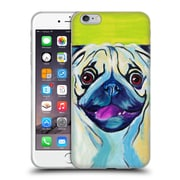 Official Dawgart Dogs Puglicious Soft Gel Case for Apple iPhone 6 Plus / 6s Plus