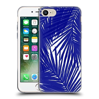 Official Caitlin Workman Organic Palms Royal Soft Gel Case for Apple iPhone 7