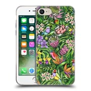 Official Celandine Tropical Pattern Stand Out Lime Soft Gel Case for Apple iPhone 7