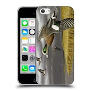 Official Chuck Black Bird Art Breaking For Cover Soft Gel Case for Apple iPhone 5c