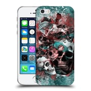 Official Burcu Korkmazyurek Skulls The Creation Of Adam Soft Gel Case for Apple iPhone 5 / 5s / SE