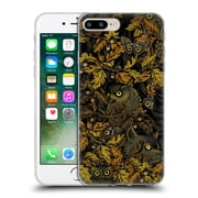 Official Celandine Camouflage Fit In Orange Soft Gel Case for Apple iPhone 7 Plus