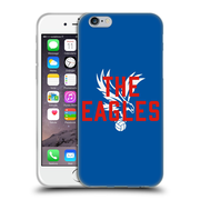 Official Crystal Palace FC The Eagles Royal Blue Eagles Soft Gel Case for Apple iPhone 6 / 6s