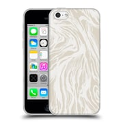 Official Caitlin Workman Patterns Marble Nude Soft Gel Case for Apple iPhone 5c