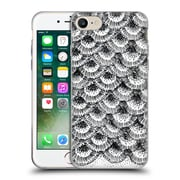 Official Caitlin Workman Modern Organic Burst Black Soft Gel Case for Apple iPhone 7