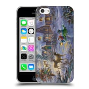 Official Christmas Mix Winter Wonderland Nicky Boehme Cottage 1 Soft Gel Case for Apple iPhone 5c