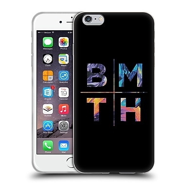 Official BRING ME THE HORIZON Key Art Stacked Letters Soft Gel Case for Apple iPhone 6 Plus / 6s Plus