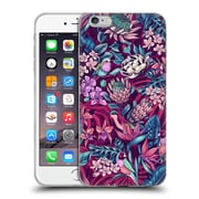 Official Celandine Tropical Pattern Stand Out Ultraviolet Soft Gel Case for Apple iPhone 6 Plus / 6s Plus