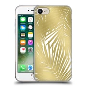 Official Caitlin Workman Organic Palms Gold Soft Gel Case for Apple iPhone 7