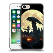 Official Christos Karapanos Horror 2 Halloween Theme Soft Gel Case for Apple iPhone 7