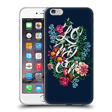 Official Burcu Korkmazyurek Floral 2 London Soft Gel Case for Apple iPhone 6 Plus / 6s Plus