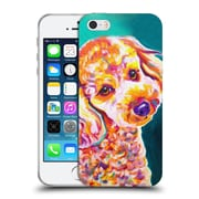 Official Dawgart Dogs 2 Poodle Curly Soft Gel Case for Apple iPhone 5 / 5s / SE