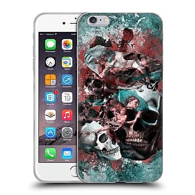 Official Burcu Korkmazyurek Skulls The Creation Of Adam Soft Gel Case for Apple iPhone 6 Plus / 6s Plus