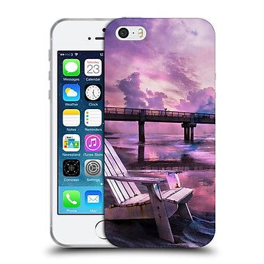 Official Celebrate Life Gallery Beaches Pretty In Pink Soft Gel Case for Apple iPhone 5 / 5s / SE