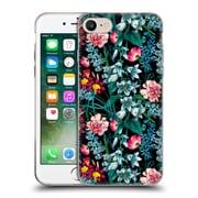 Official Burcu Korkmazyurek Floral 2 Nasturtium Night Soft Gel Case for Apple iPhone 7