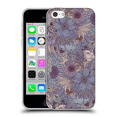 Official Celandine Wild Things The Wild Side Lavender Soft Gel Case for Apple iPhone 5c