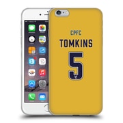 Official Crystal Palace FC 2016/17 Players Away Kit James Tomkins Soft Gel Case for Apple iPhone 6 Plus / 6s Plus