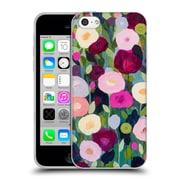 Official Carrie Schmitt Florals Night Garden Soft Gel Case for Apple iPhone 5c