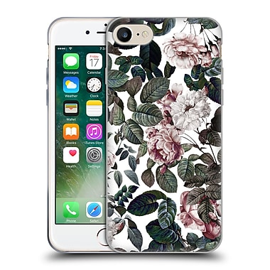 Official Burcu Korkmazyurek Floral 2 Vintage Garden Soft Gel Case for Apple iPhone 7