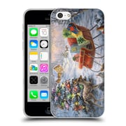 Official Christmas Mix Winter Wonderland Nicky Boehme Tis The Night Before Soft Gel Case for Apple iPhone 5c