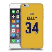 Official Crystal Palace FC 2016/17 Players Away Kit Martin Kelly Soft Gel Case for Apple iPhone 6 Plus / 6s Plus