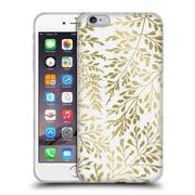 Official Caitlin Workman Organic Foliage Gold Soft Gel Case for Apple iPhone 6 Plus / 6s Plus