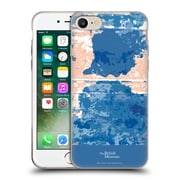 Official British Museum Decoration and Ceremony Blue Blotch Soft Gel Case for Apple iPhone 7