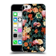 Official Burcu Korkmazyurek Birds and Floral Floral And Flamingo II Soft Gel Case for Apple iPhone 5c