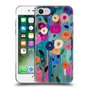 Official Carrie Schmitt Florals Nurture Your Soul Soft Gel Case for Apple iPhone 7