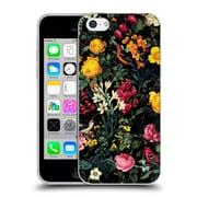 Official Burcu Korkmazyurek Birds and Floral Pink Soft Gel Case for Apple iPhone 5c