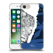 Official British Museum Community and Nurture 2 Black And Blue Print Soft Gel Case for Apple iPhone 7