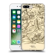 Official British Museum Images and Objects Map Of Sardinia Soft Gel Case for Apple iPhone 7 Plus