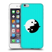 Official Chobopop Animals Yin Yang Dolphins Soft Gel Case for Apple iPhone 6 Plus / 6s Plus