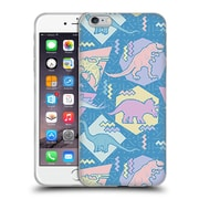 Official Chobopop Dinosaurs 90's Pastel Soft Gel Case for Apple iPhone 6 Plus / 6s Plus
