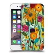 Official Carrie Schmitt Florals Sunflower House Soft Gel Case for Apple iPhone 6 / 6s