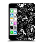 Official Burcu Korkmazyurek Floral Black And White Soft Gel Case for Apple iPhone 5c