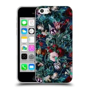 Official Burcu Korkmazyurek Floral Night Forest X Soft Gel Case for Apple iPhone 5c